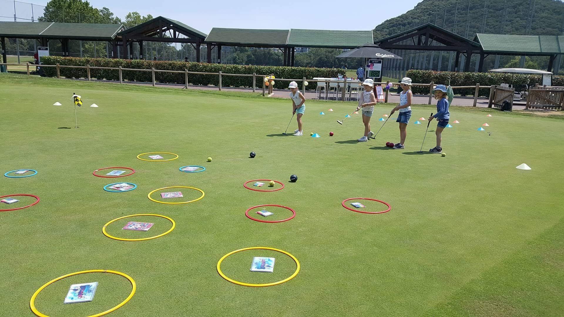 anniversaire golf enfant jeux