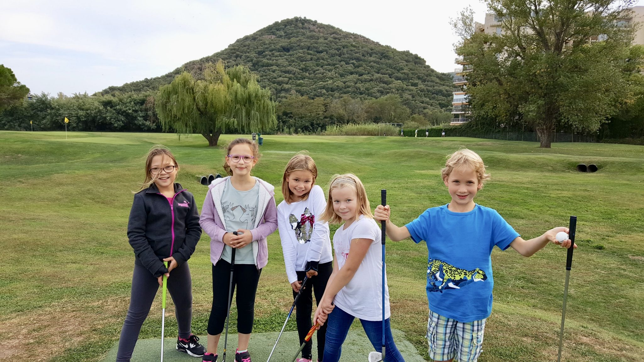 Un anniversaire original au golf pour les enfants !