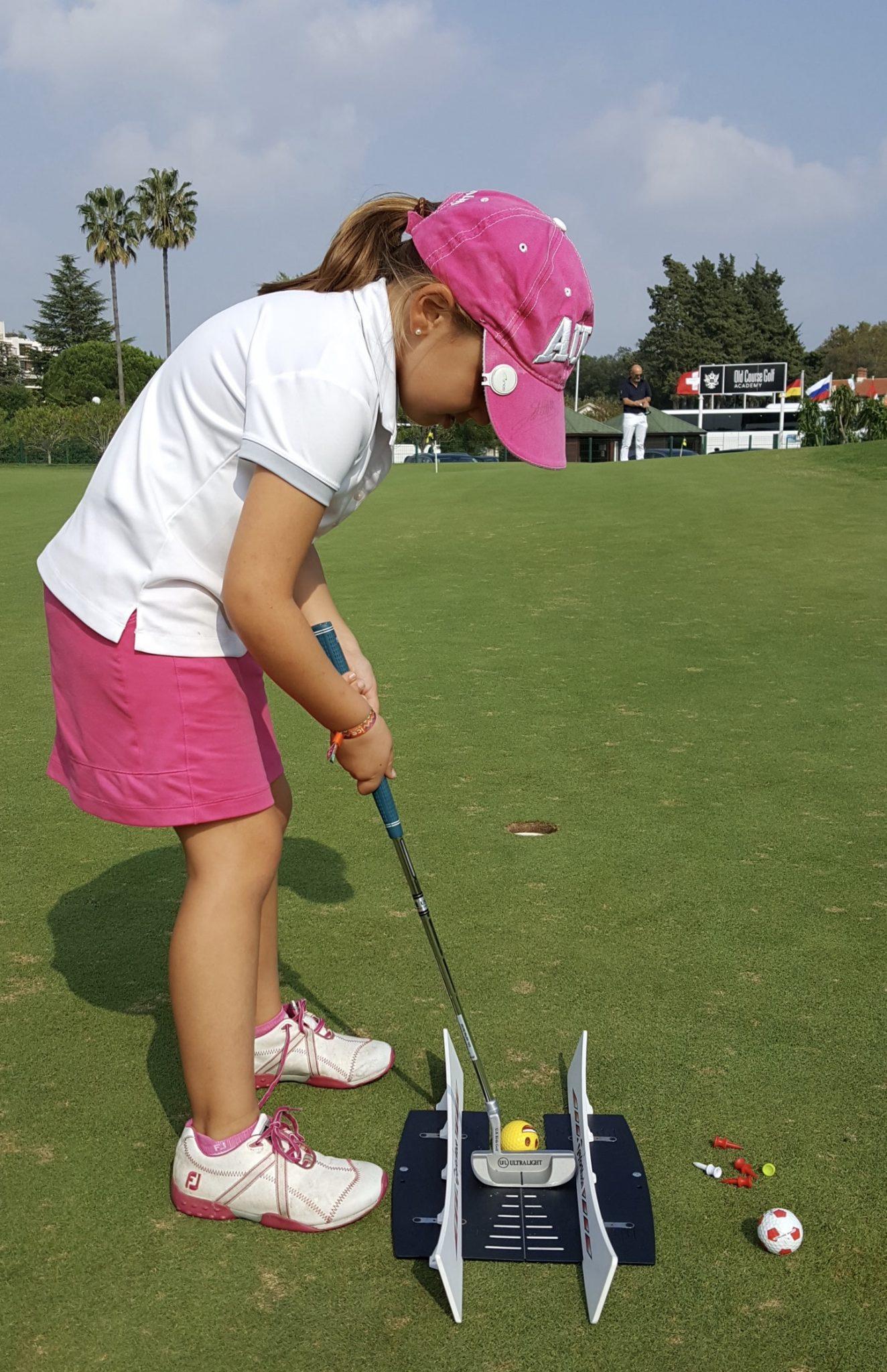 Un entraînement Golf pour les juniors